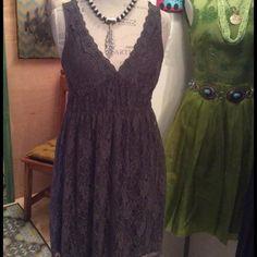 Grey lace dress Grey lace summer dress Dresses