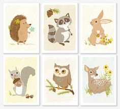 This is so cute for the nursery! I I usually prefer real life pictures but these are adorable!