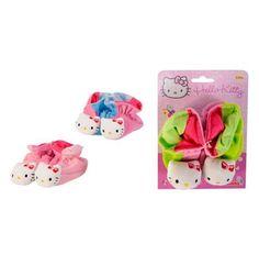 Simba Тапочки-погремушки Hello Kitty 13 см  — 210р. ------------  Simba Тапочки-погремушки Hello Kitty для малышей выполнены из мягкого и приятного материала, украшенного изображением милой кошечки Hello Kitty. Внутри тапочек спрятаны звонкие погремушки.  Нося такие тапочки, малыш сможет развить мелкую моторику пальцев ног, цветовое восприятие, тактильные ощущения, а также развить зрение и мозговую деятельность. При ходьбе тапочки будут издавать не пугающий мягкий звук, чтобы малышу не было…