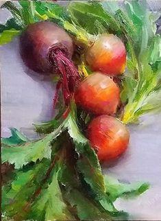 Fancy beets by Tatiana Yanovskaya-Sink Oil 14 x 11 Painting Competition, Artwork Images, Online Painting, Beets, Fancy, Vegetables, Sink, Sink Tops, Vessel Sink