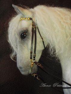 beautiful felt horse