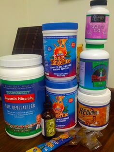 """My office is getting a wee bit crowded, don't you think? Gotta have my Youngevity stash! #90forlife"" via Alethea Prattas"