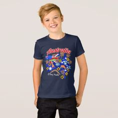 Australian animals and locations T-Shirt - animal gift ideas animals and pets diy customize