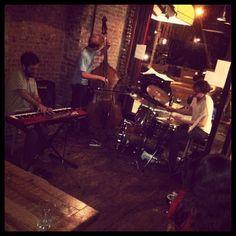 "@thequeenskickshaw's photo: ""Ooh la la, Danny Fox Trio you make good music."""
