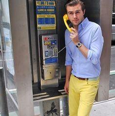 yellow pants #preppy