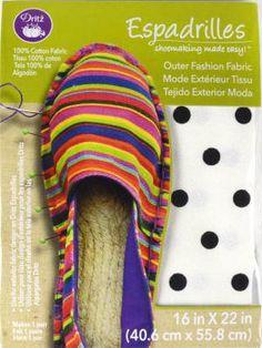 50% OFF Entire Dritz Espadrilles (Shoe Making Product Line) #promotion #onsale #halfoff #salealert #notions #supplies #shoemaking #espadrilles #dritz #sewing #crafting #shopthelink