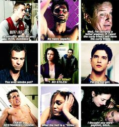 Teen Wolf. A serious tv show about werewolves. lol