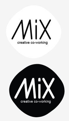 MIx Creative Co-working, logo concept. Work in progress