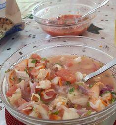 Hoy rico ceviche de camarón  Riquisimooooo buen provecho  #RecetasFáciles #RecetasGratis #FoodIdeas #RecetasDeliciosas #Recetas #RecetasDeCocina