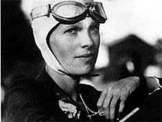 Amelia Earhart-- think she's fascinating---wonder what ever really happened to her?