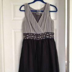 Ne Without Tag - Dress / Silver & Black
