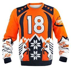 #Christmas See price  KLEW NFL Denver Broncos Peyton Manning #18 Ugly Sweater, X-Large, Blue for Christmas Gifts Idea Shop Online . Regardless of whether you are looking to help remedy on your own this specific Christmas  as well as wish several motivation whenever buying with regard to some others. Christmas  is a time for it to ...