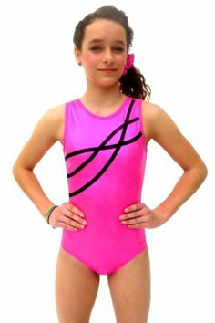 TumbleWear Girl's Leotard Sophia | Hot Pink Sparkle-Child: 5-6, http://www.amazon.com/dp/B00BIRZYXW/ref=cm_sw_r_pi_awd_tB-msb1DF31WZ