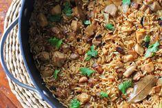 Khukara Ko Polau- Nepali Chicken Fried Rice | Girl Cooks World
