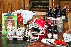 great football tailgate