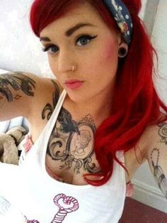 Love her red hair x