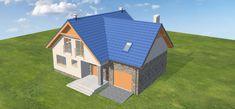 Projekt domu Puk 3 131,04 m2 - koszt budowy - EXTRADOM Small Buildings, Gazebo, Outdoor Structures, House Design, Outdoor Decor, Home Decor, Kiosk, Decoration Home, Room Decor