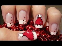 Ejemplos de unas preciosas manicuras navideñas