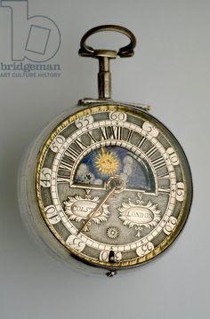 Pair-cased verge watch, c.1685 (silver) Creator Colston, Richard (c.1682-1709) Nationality English Location Ashmolean Museum, University of Oxford, UK