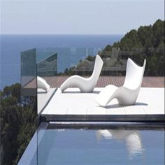 Patio furniture....very contemporary