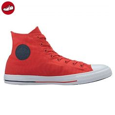 Converse Womens Chuck Taylor All Star Hi Counter Climate Red Canvas Trainers  40 EU (*