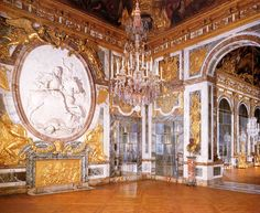 VERSAILLES - The Salon of War.