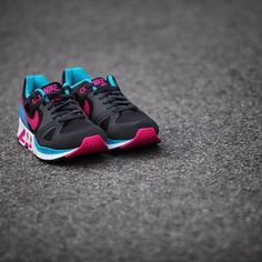 NIKE AIR STAB BLACK/PINK-BLUE  http://wp.me/p59jfm-7g  #SneakerGazer