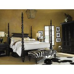 Tommy Bahama Kingstown Sovereign Poster Bed 619-173C