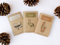 The Cocktail Hour Scout Books