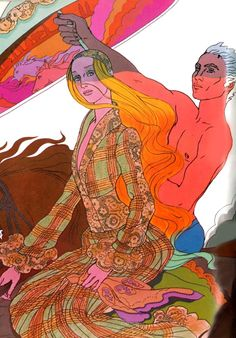 Late 1960s Antonio Lopez illustration from Vogue.