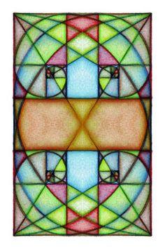 Fibonacci Spiral Art 2 by Grwobert.deviantart.com on @deviantART