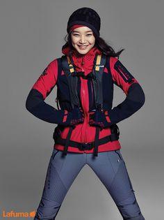 Lafuma Fall 2014 Ad Campaign Feat. Shin Min Ah | Couch Kimchi