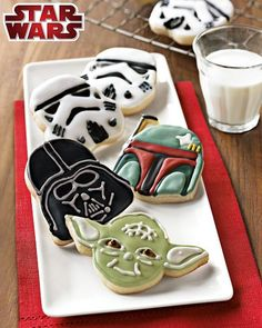 darth vader cookies - Google Search