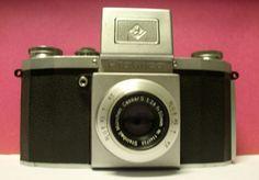 Auctioned off through Catawiki: K.W. Praktica 1949 & Steinheil Cassar S 2.8-50 mm & case Very nice special good working camera.