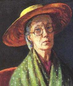 Self-portrait, by Vanessa Bell (British, 1879-1961)