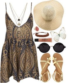 28 Cute Girly Combinations | Some nice summer combos here. I hate dressing for hot weather, better keep looking at this one as inspiration...