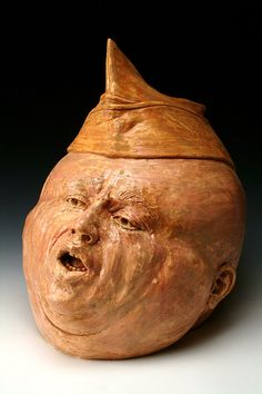 no.  Large sculptural ceramic head with open mouth and by MartyShuter, $1600.00