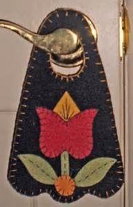 17 Best images about Applique Wool Felt: Penny Door Hanger ...