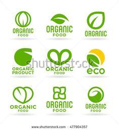 Eco food, organic products and ecology #logo #design #eco #bio #organic #natural