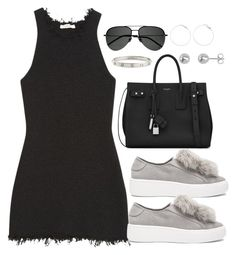 """Untitled #3700"" by theaverageauburn ❤ liked on Polyvore featuring CÉLINE, Steve Madden, Yves Saint Laurent and Cartier"