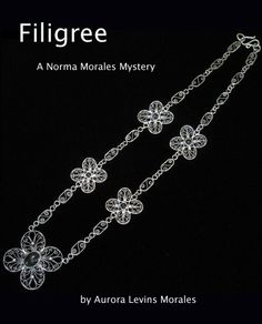 Here's the draft cover. The artist who made this lovely necklace graciously granted permission for me to use the image. Filigree, How To Find Out, Mystery, Diamond, Cover, Artist, Image, Jewelry, Jewellery Making