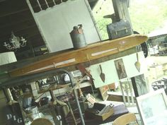 Ski shelf & trowel peg rack by the Welthas.