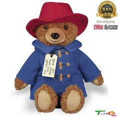 YOTTOY Paddington Bear Toys 8.5 For Kids Stuffed Animals Dolls Gift Idea Soft #YOTTOY
