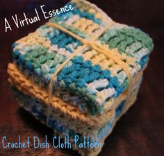 Crochet Dish Cloth Pattern