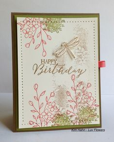 Happy Birthday by Luv Flowers - Cards and Paper Crafts at Splitcoaststampers
