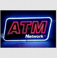 ATM Optical Neon Sign - China Neon Sign;led light;LED neon sign