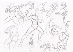 Image result for fighting pose reference