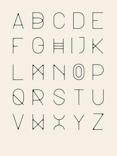 Il est trop beau cet alphabet