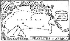 Maps of Hebrews In Africa – Black History In The Bible West Africa, North Africa, Africa Map, Book Of Deuteronomy, Lamentations, Black Hebrew Israelites, Bible Dictionary, 12 Tribes Of Israel, Black History