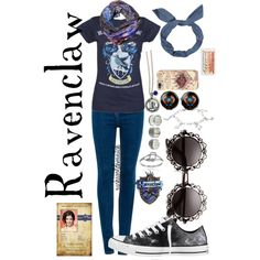 """The Hogwarts House Collection: Ravenclaw"" by suchagoldensnitch on Polyvore"